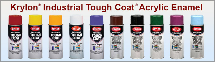 Krylon Industrial Tough Coat Acrylic Enamel Paint