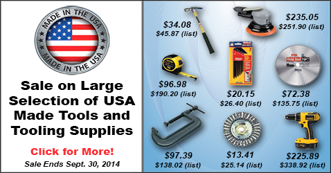 Made in the USA Tools and Tooling Supplies Sale