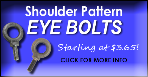 Shoulder Pattern Eye Bolts