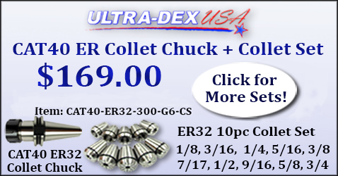 Ultra-Dex USA CAT40 ER Collet