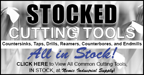 Stocked Common Cutting Tools